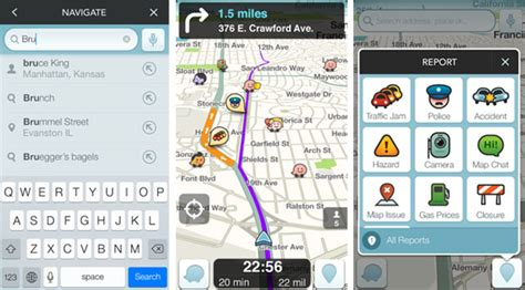 waze app android waze navigation app now reads destinations from ios and android calendars