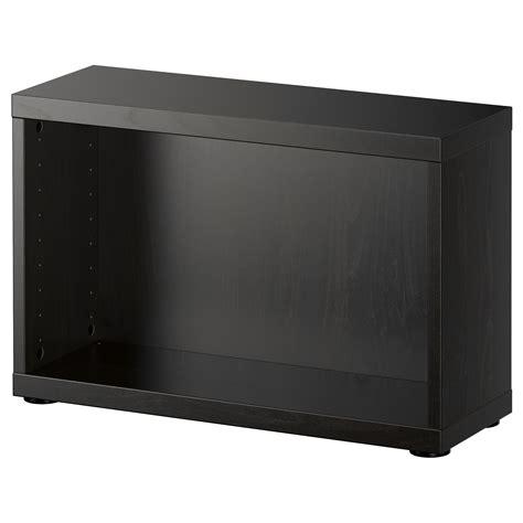 besta 60x20x38 best 197 frame black brown 60x20x38 cm ikea