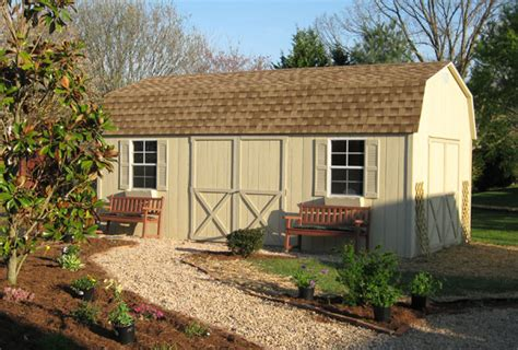finding the perfect landscape design for your storage shed
