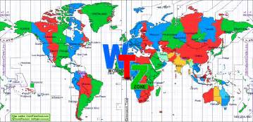 World Clock Map by Pics Photos Time Zones Map World Clock