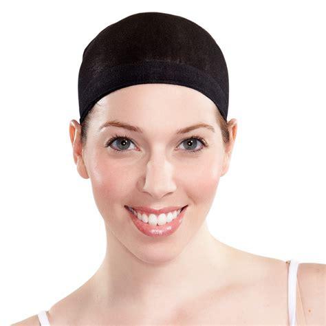 wig cap 100 nylon cover hair sheer nude or black wear under your wig ebay