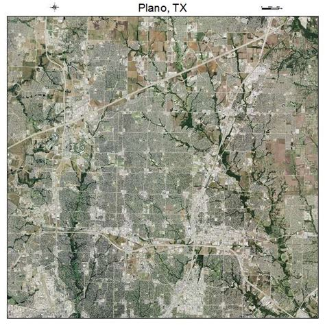map of plano texas aerial photography map of plano tx texas