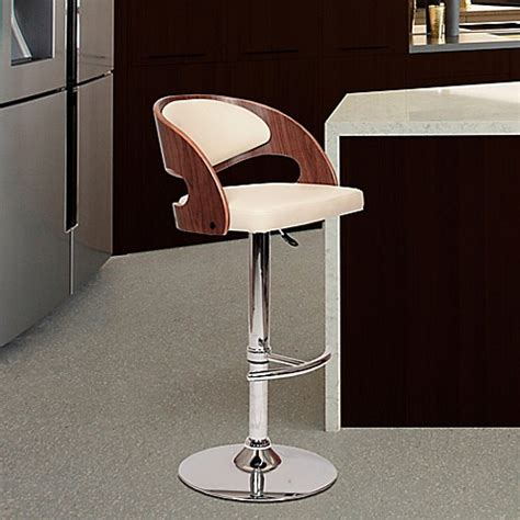 Adjustable Bar Stools Bed Bath And Beyond by Malibu Adjustable Chrome Bar Stool Bed Bath Beyond