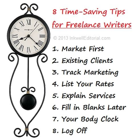 8 Tips For A Freelance Writer by 8 Time Management Tips For Freelance Writers That Can