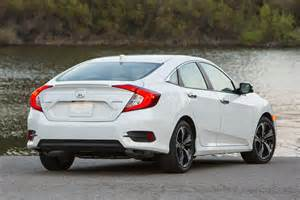 2016 Honda Civic 2016 Honda Civic Touring 1 5t Sedan Second Drive Review