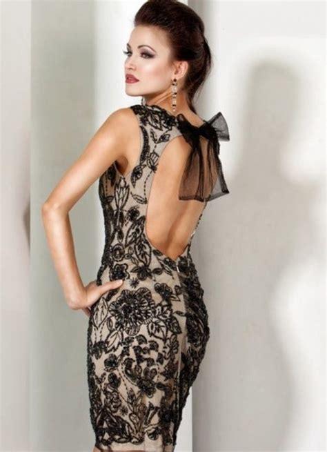 Abiye Elbise Modelleri Fiyatlar Mini Abiye Elbise Modelleri   siyah işlemeli mini abiye elbise