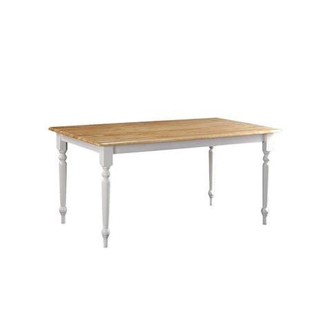 36 quot x 60 quot dining table in white and 70369