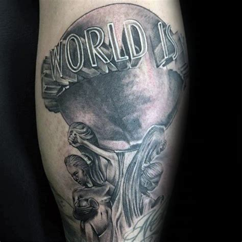 scarface tattoo 30 the world is yours designs for manly ink ideas