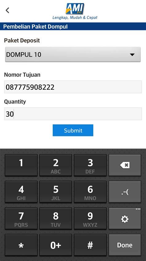 Dompet Xl aplikasi ami pay pt artav mobile indonesia distibutor
