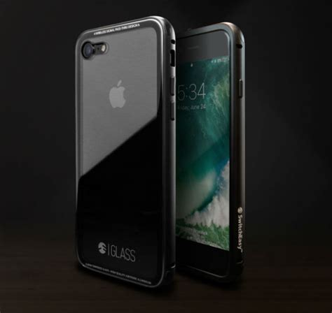 protect  jet black iphone    glass case