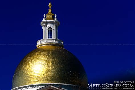 Golden House Ma by Golden Dome Of The Massachusetts State House Metroscenes
