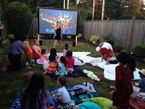 best movies for backyard movie night outdoor movie projector an outdoor movie event at a festival in south georgia outdoor