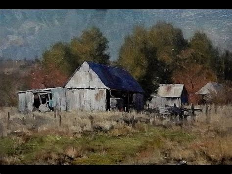 Red Barn Light Kasey Sealy Landscape Painting In Oils Youtube