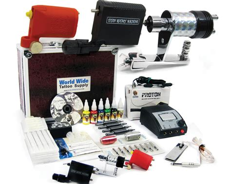 tattoo kit with case rotary tattoo kit apprentice tattoo kit with case