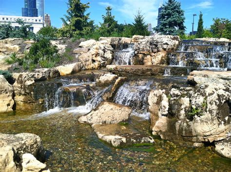 aquascape chicago aquascape ecosystem waterfall pond installation shedd
