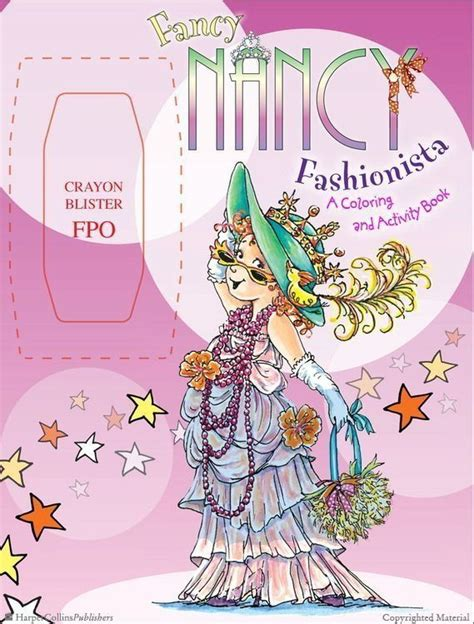 designer handbags coloring and activity book books 11 best images about fancy nancy activity books on