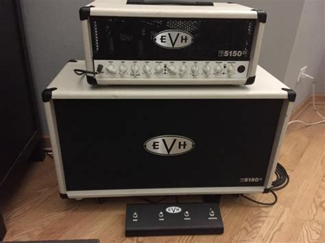 Evh Cabinet by Evh 5150 Iii 50w Head 2015 Ivory And 2x12 Cabinet Reverb