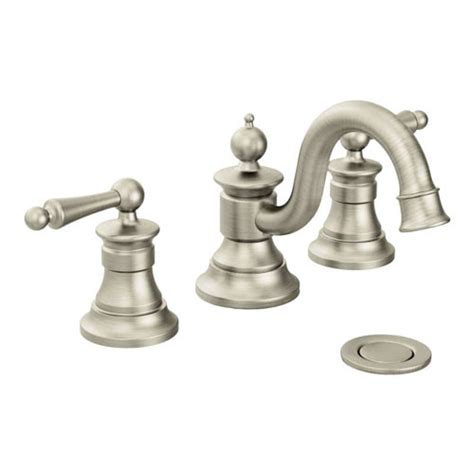 Showhouse Faucet by Moen Showhouse Ts418bn Waterhill Two Handle Widespread