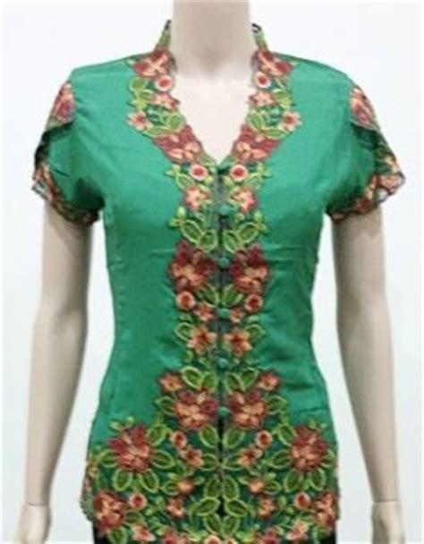 Blus Kebaya Bordir baju batik blus kebaya bordir modern grosir jilbab
