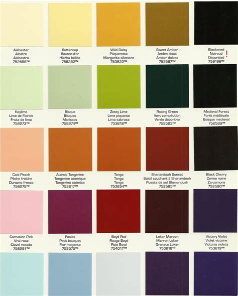painting color schemes delectable 40 color paint inspiration of paint colors 101