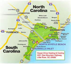 carolina map of coast south carolina beaches map http traveliop south