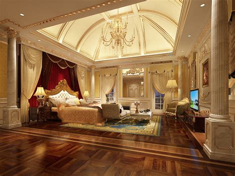 3d bedroom luxury bedroom photoreal 3d model max cgtrader com