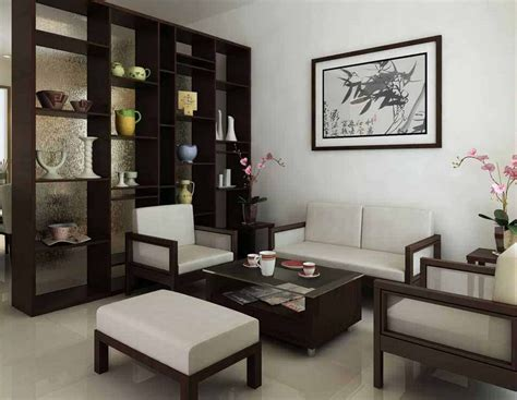 desain interior ruang tamu dengan kursi kayu contoh gambar desain interior ruang tamu minimalis