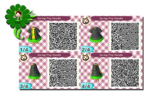 acnl spring colors the gallery for gt animal crossing new leaf qr codes