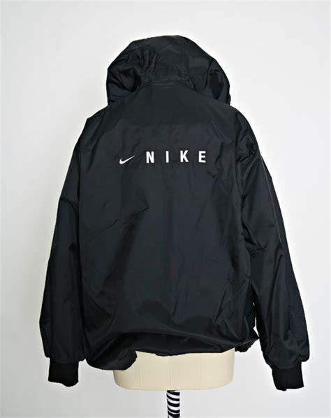 vintage nike jacket 90s nike bomber nike windbreaker black