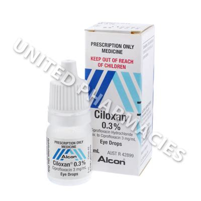 eye infection drops ciloxan eye drops ciprofloxacin 0 3 5ml infection united pharmacies uk