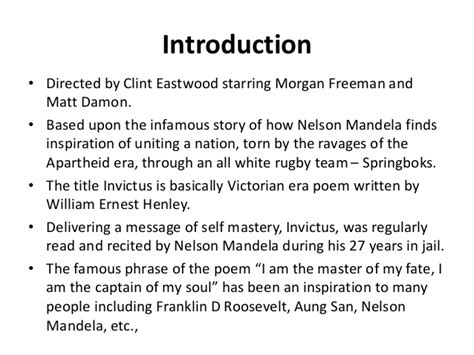Invictus Essay by Invictus Poem Analysis Essay Mfacourses887 Web Fc2