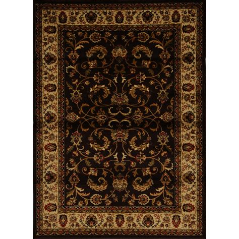 home dynamix royalty rug home dynamix royalty brown ivory rug 3208 511