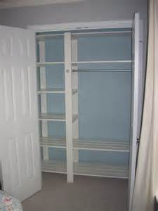 Closet Shelving White Guest Bedroom Closet Diy Projects
