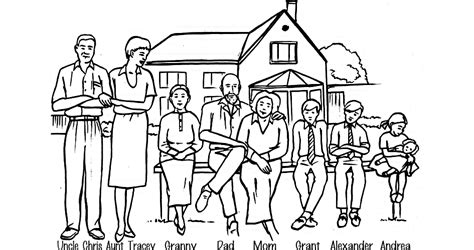coloring pages of joint family what is a quot nuclear family quot demographic partitions