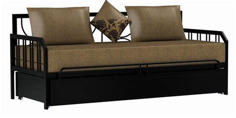steel sofa come bed price buy sofa cum bed by furniturekraft online metal sofa