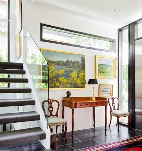 decorating your staircase with eye catching artwork