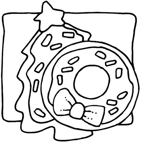 Free Coloring Pages Of Christmas Cookie Monster Cookies Coloring Page