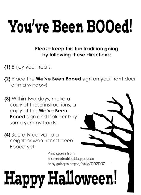 printable boo directions try this