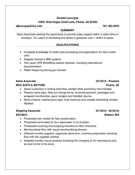 Donald Resume by Donald Lavorgna Resume 1