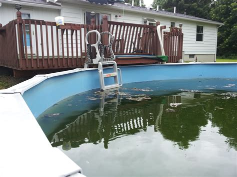 pool running 101 it is actually kind of awesome cleaning an above ground pool