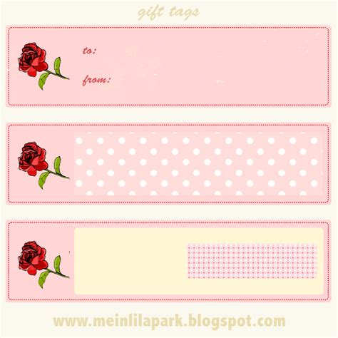 printable gift tags pink free printable pink faux vintage rose tags ausdruckbare