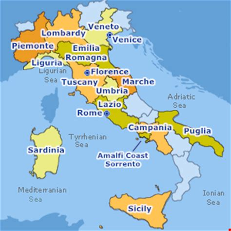 map of islands and surrounding area map of italy florence and surrounding area labarcakortgene