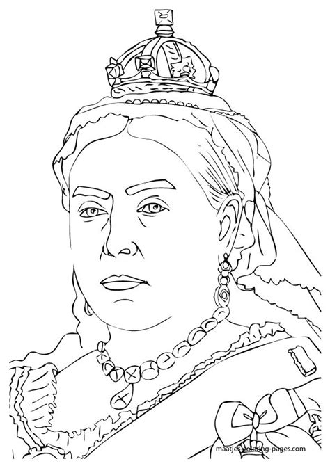 coloring pages for special needs adults queen victoria colouring page victorian age for kids