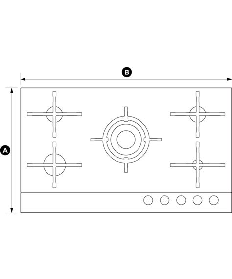 cgdnggb cm gas  glass hob fisher paykel