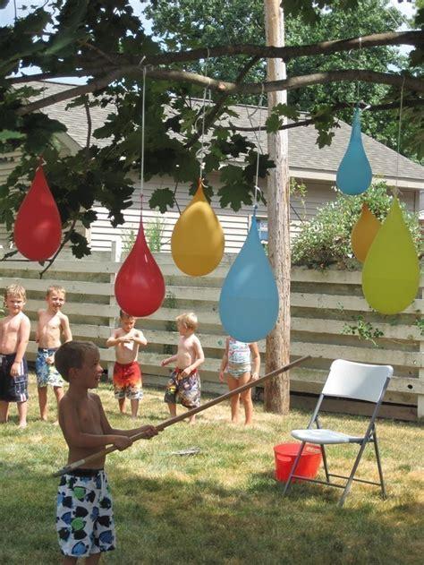 diy backyard water fun 25 water games activities for kids