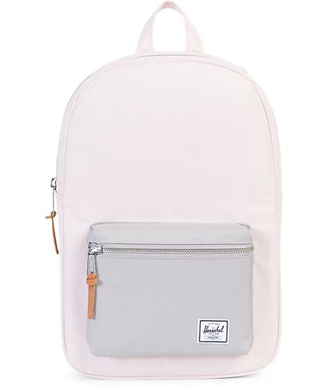 light pink herschel backpack herschel supply co settlement mid cloud pink grey 17l