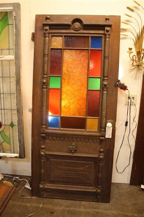 Antique Stained Glass Door Antique Stained Glass Door Stuff