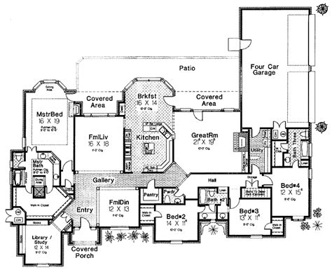 modern castle floor plans modern day castle hwbdo09510 chateauesque house plans