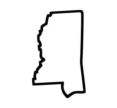 state of mississippi tattoo designs mississippi state outline temporary by