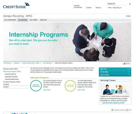 Credit Suisse Mba Fellowship by Credit Suisse India Summer Internship 2018 2019 Student